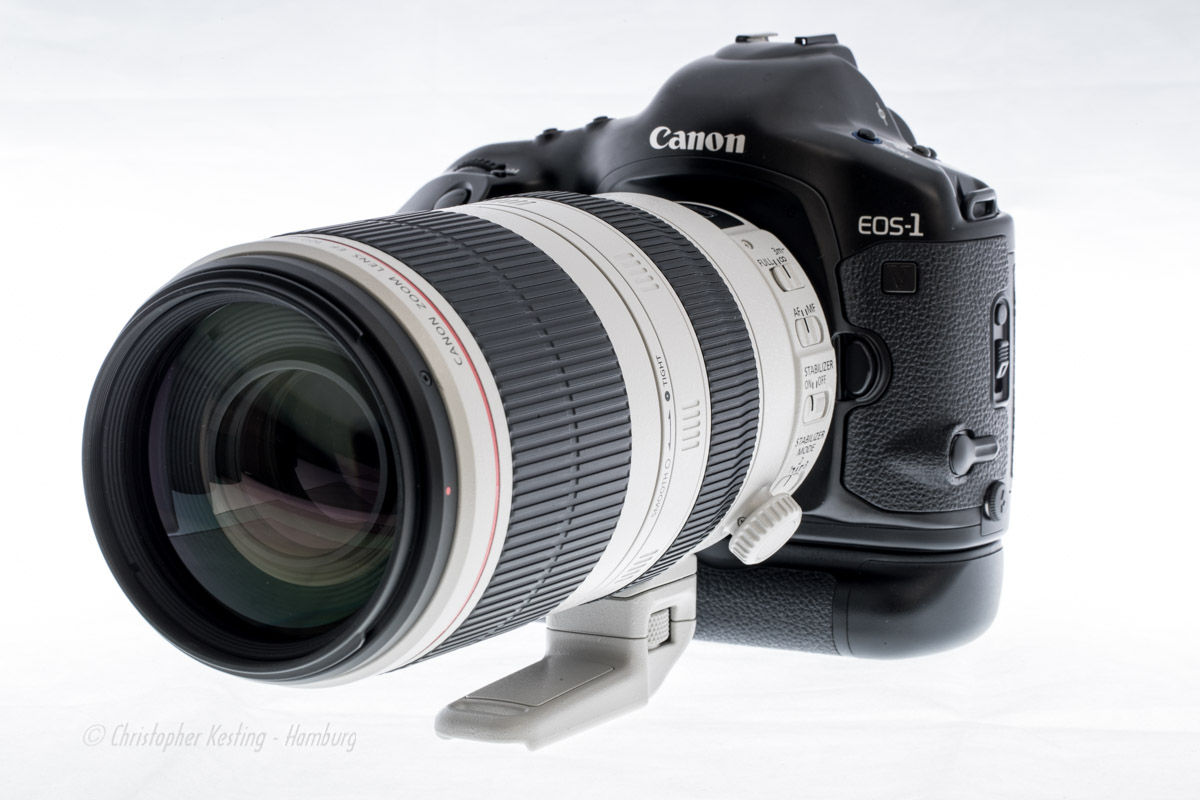 Canon EOS-1V mit EF 100-400mm 1:4,5-5,6L IS II USM