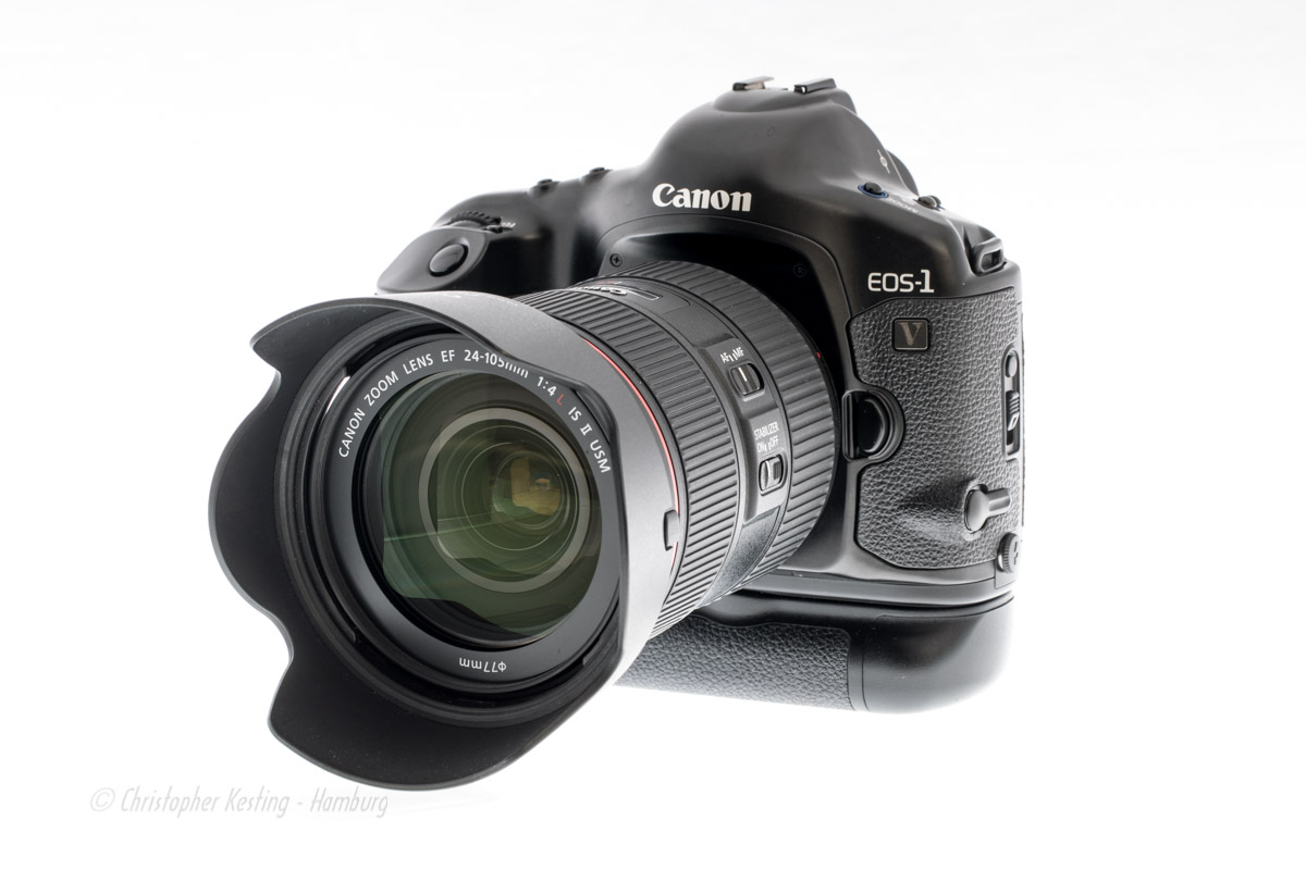 Canon EOS-1V mit EF 24-105mm 1:4L IS II USM