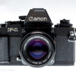 Canon New F-1 - Frontalansicht
